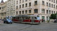 T3R.PLF zachycená u strossmayerova náměstí na lince 6 (2012, M. Vyskočil)