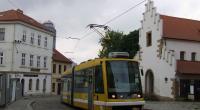 Škoda 03T Astra v Plzni při oslavách 110 let PMDP