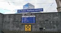 Improvizovaná zastávka Praha - Karlovo náměstí, dne 18. 9. 2017