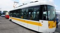 Prototyp tramvaje EVO 1 na veletrhu Czech Railday 2015