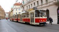 Historický vůz KT8D5 v Praze