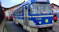 Historická tramvaj T4 určená pro komerční jízdy (M. Vyskočil)