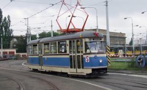 Historická Tatra T1 v Plzni při oslavách 110 let PMDP  (2009, M. Vyskočil)