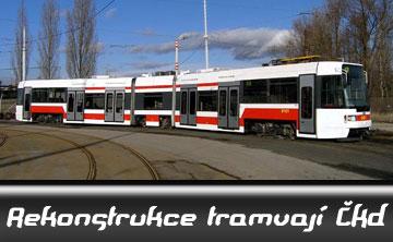 Rekonstrukce tramvají ČKD